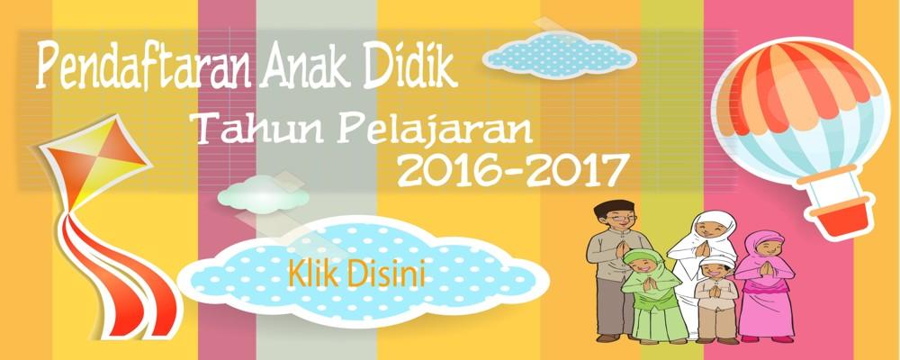 Pendaftaran Anak Didik 2016/2017