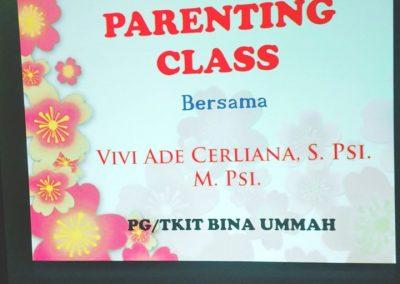 PARENTING CLASS 1