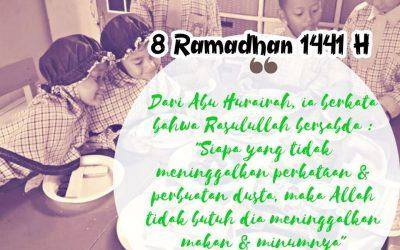 ❤️Selamat Menunaikan Ibadah Puasa Ramadhan di Hari Ke-8 Sahabat. . . .😊
